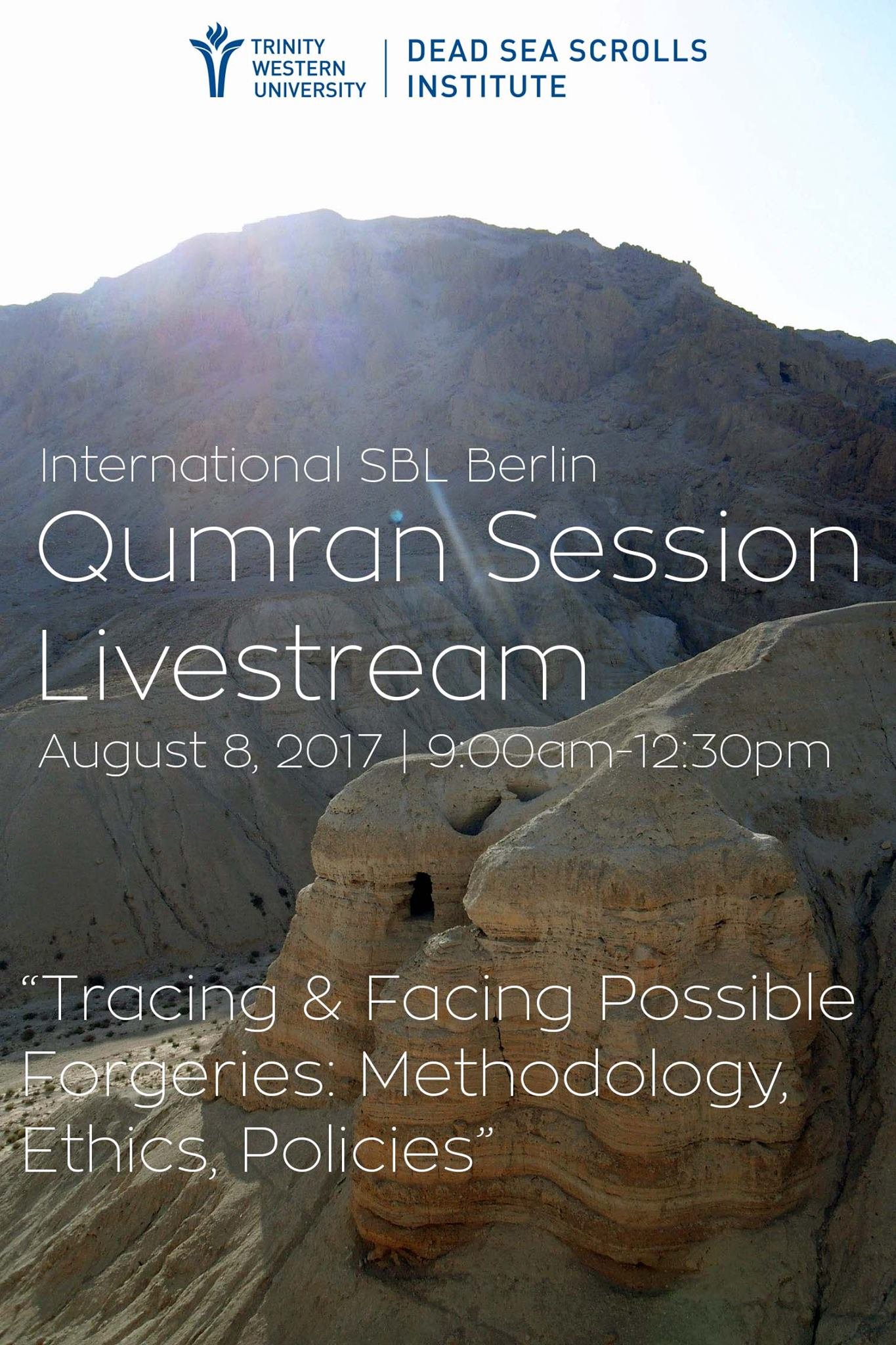 Qumran Session Livestream SBL/EABS Berlin