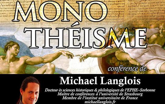 Conférence monothéisme 20 février 2014 Soissons