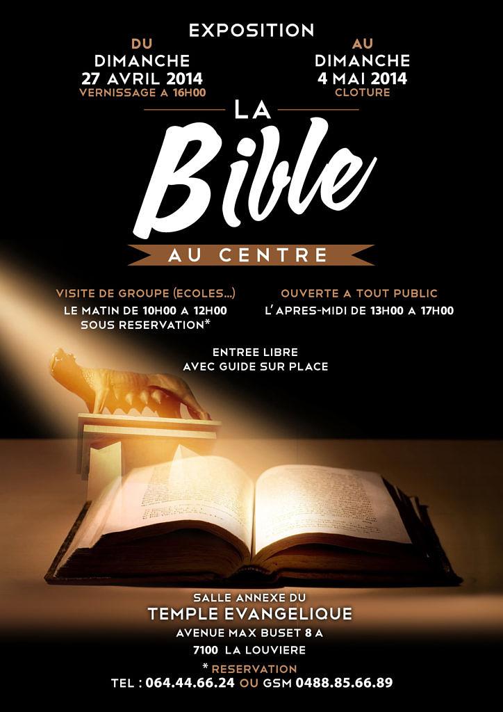 Flyers - A5 Exposition Bible recto