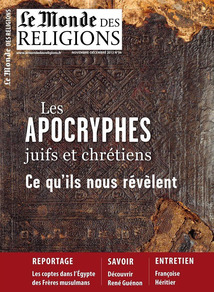 Monde des Religions 56 - Apocryphes