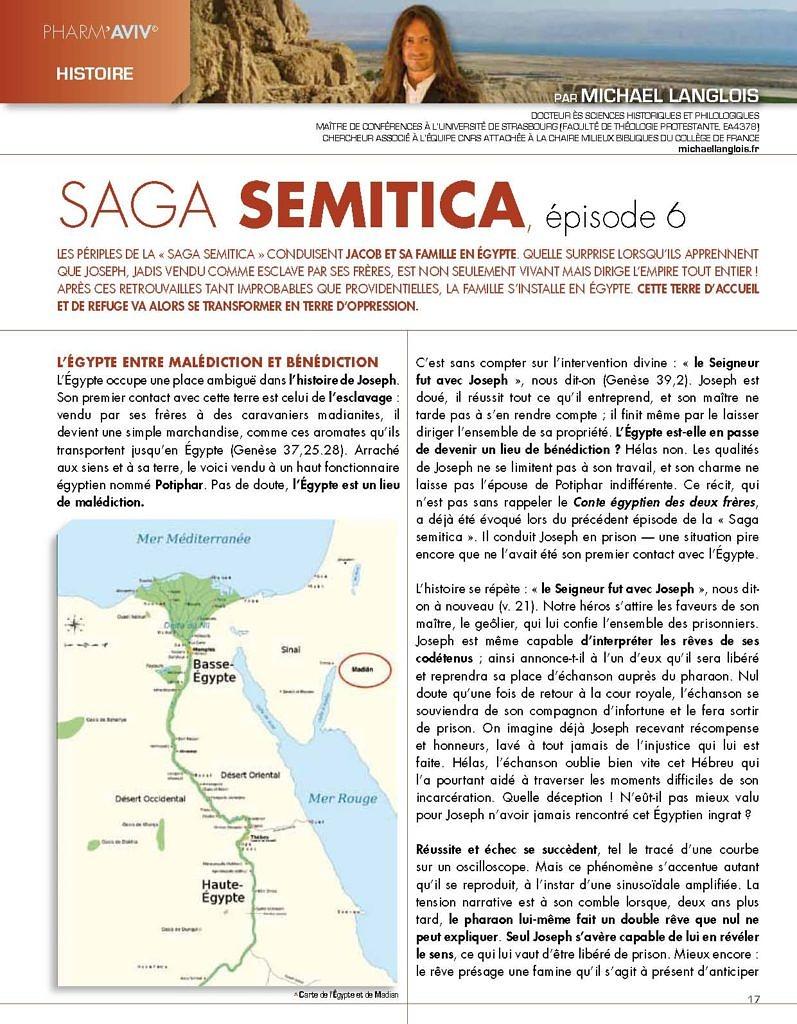 Saga Semitica, épisode 6