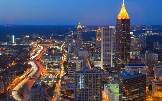 Atlanta-skyline-at-night