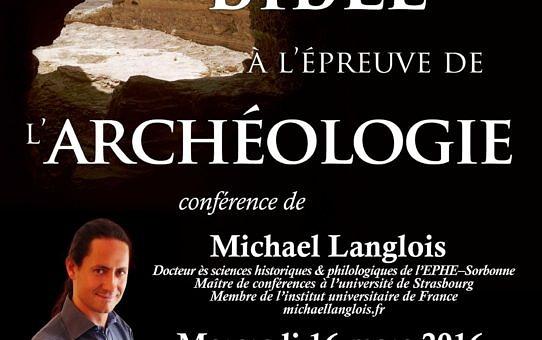 Conférence archéologie 16 mars 2016 Saint-Maur