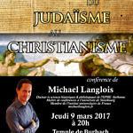 Conférence Michael Langlois Du judaïsme au christianisme 9 mars 2017 Burbach