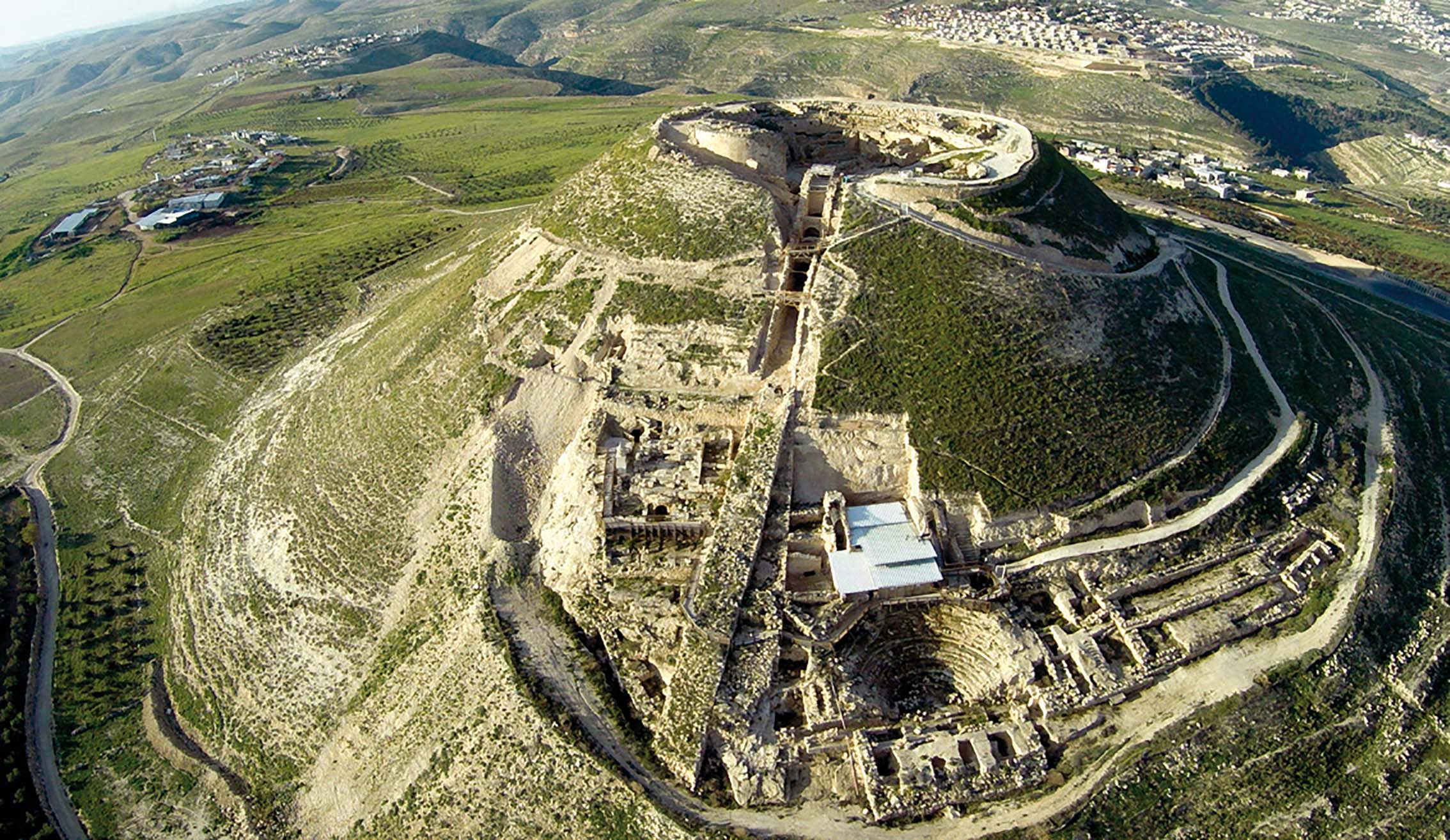 New Inscriptions from Herodium, in Jerusalem on 11 Apr 2019 – Michael Langlois