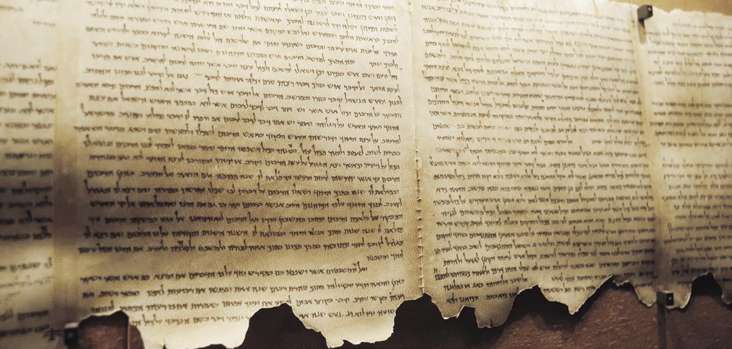 Dead Sea Scrolls Daniel datant