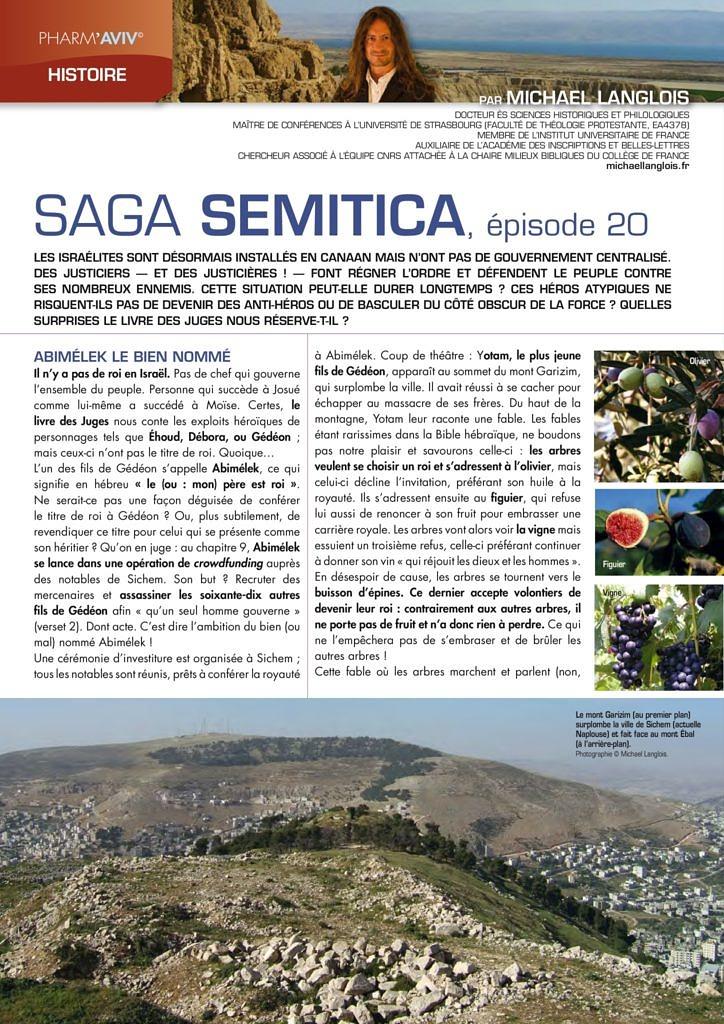 thumbnail of Langlois 2016 Saga Semitica épisode 20, Pharm'Aviv 146, p. 18-20