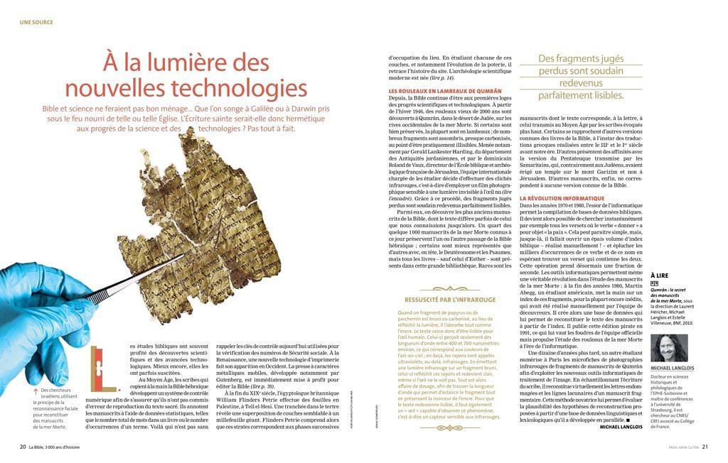 thumbnail of Langlois 2018 À la lumière des nouvelles technologies