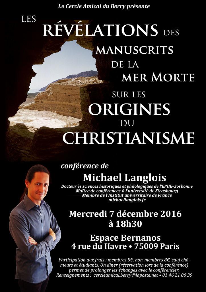 les-revelations-des-manuscrits-de-la-mer-morte-sur-les-origines-du-christianisme-le-7-decembre-2016-a-paris