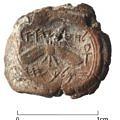 Seau du roi Ézéchias de Juda, découvert à Jérusalem. © Eilat Mazar, photographie par Ouria Tadmor