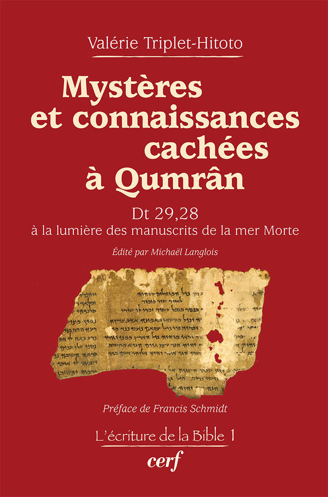 Valérie Triplet-Hitoto, Mystères et connaissances cachées à Qumrân